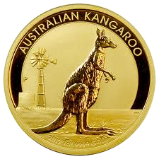 Kangaroo gold 1/10 oz  2012